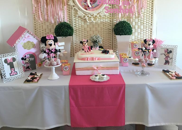 Minnie e o 1º Aniversário da Ema - Balão de Sonhos :: organização de festas e eventos Algarve, Lagos