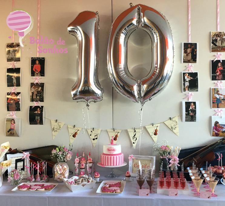 Aniversário da Camila
