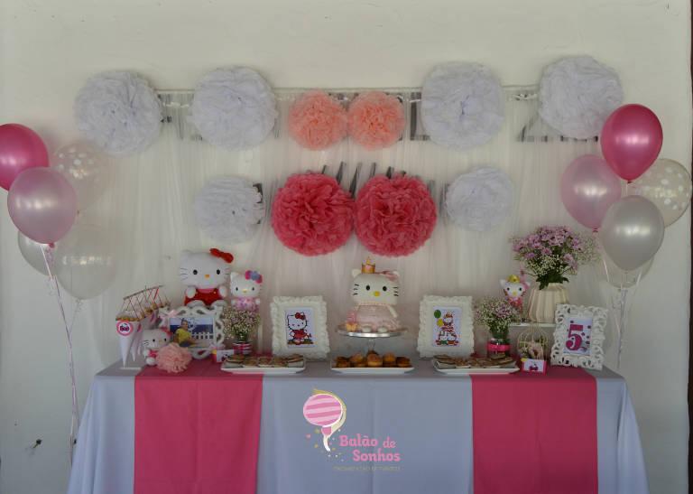 Aniversário Matilde - Hello Kitty - Balão de Sonhos :: organização de festas e eventos Algarve, Lagos